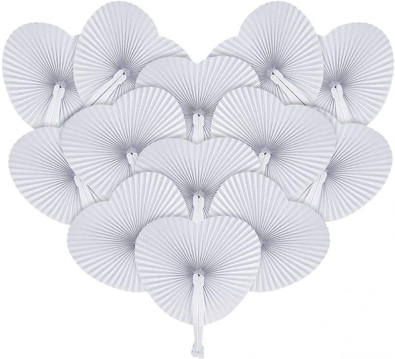 Abanicos plegables de papel Thexiu
