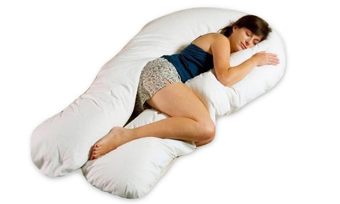 Almohada de apoyo para el cuerpo y el bebé