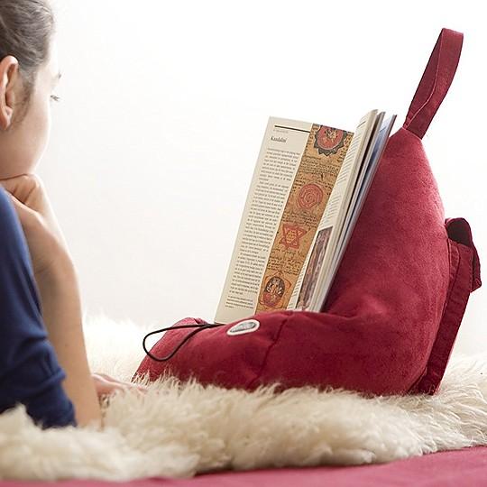 Atril Cojín para libros y tablets
