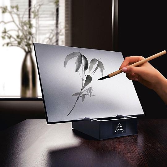 Buddha Board la tableta para hacer pinturas efímeras