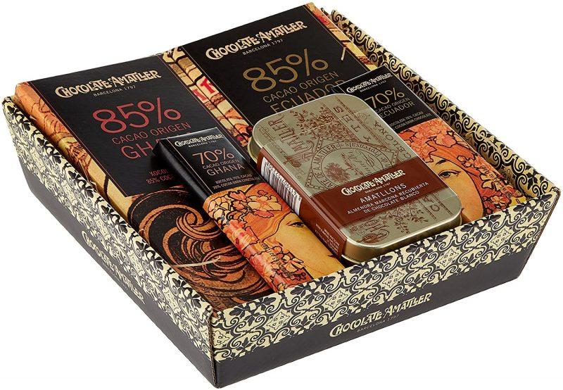 Chocolates surtidos en cajita de regalo marca Amatller