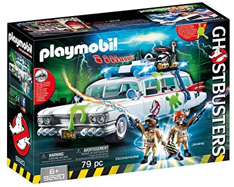 Coche de los cazafantasmas de Playmobil