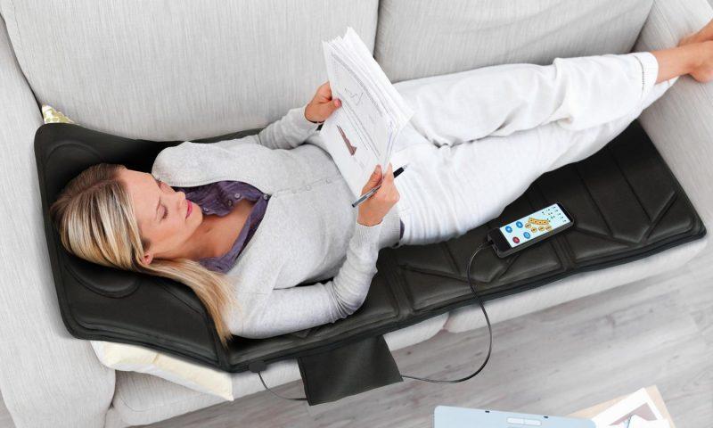 Colchón de masaje con 10 motores 4 zonas y opcion calor