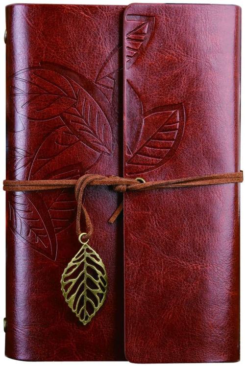 Cuaderno vintage con cubierta de piel sintetica NectaRoy