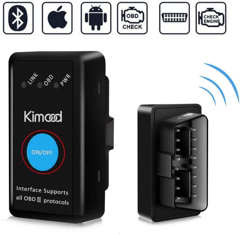 Escaner Mini Bluetooth para coche Kimood OBD2
