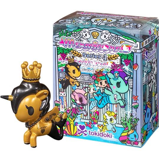 Figuritas de mermicornos en caja sorpresa serie 4