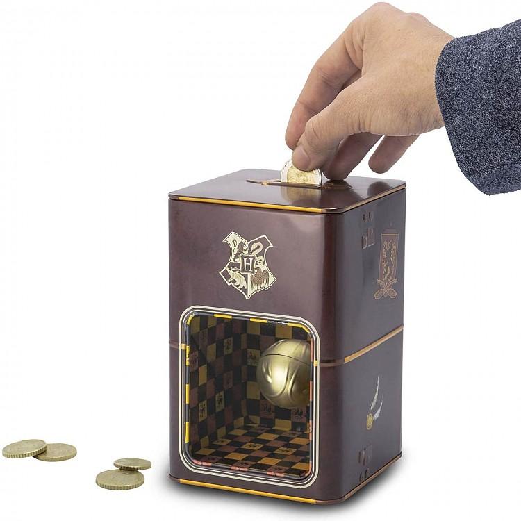 Hucha de Harry Potter Snitch dorada