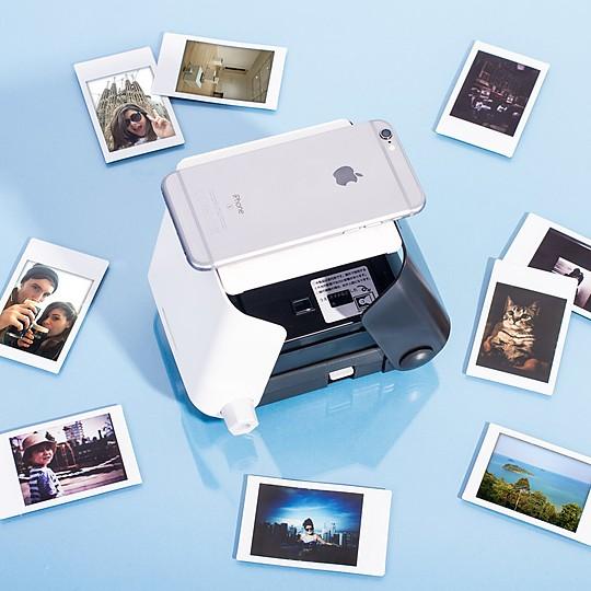 KiiPix la impresora de fotos instantáneas para el smartphone