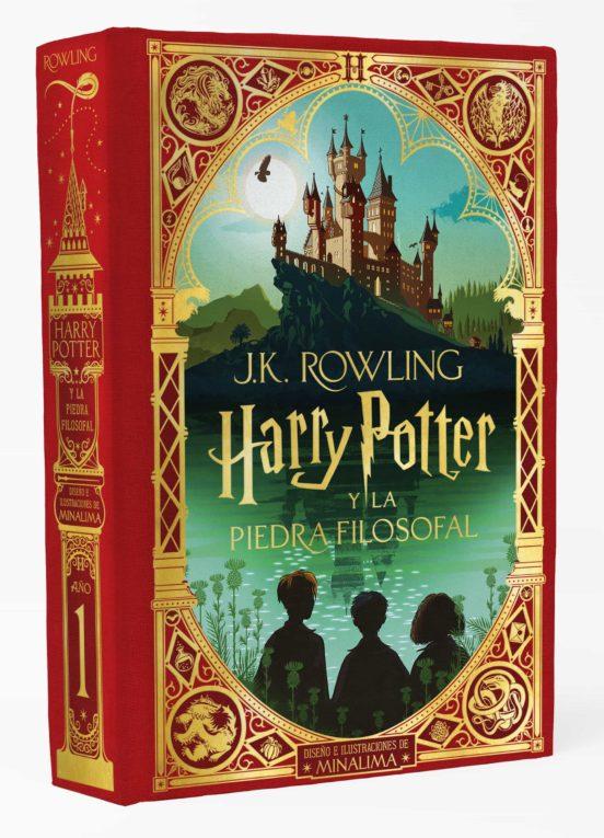 Libro Harry Potter y la Piedra Filosofal Ed. Minalima