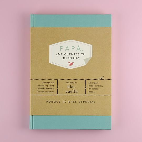 Libro Papá me cuentas tu historia