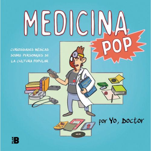Libro medicina pop curiosidades medicas sobre personajes de la cultura popular de yo doctor