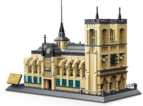 Maqueta Catedral de Notre Dame de WANGE