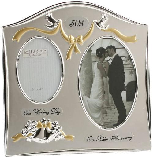 Marco de fotos para bodas de oro Juliana