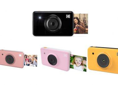 Mini cámara instantánea y cartucho Kodak