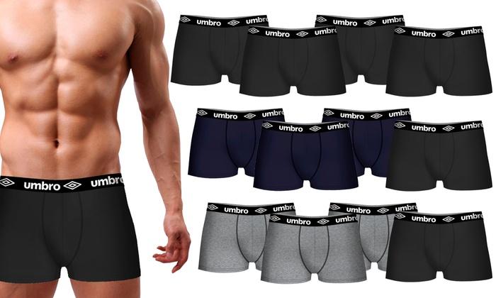 Pack de 12 boxers para hombre Umbro
