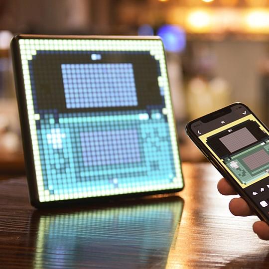 Pixoo Max el panel multifuncion gigante para crear pixel art