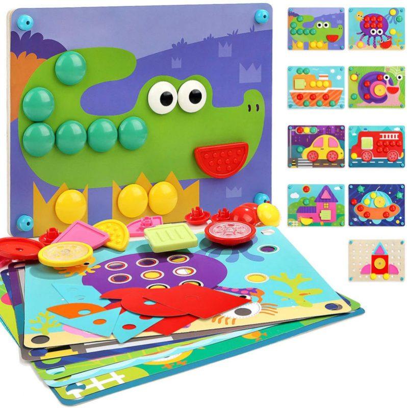 Puzle Infantil de Madera 8 en 1 de Nene Toys