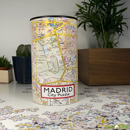 Puzle Plano de Madrid