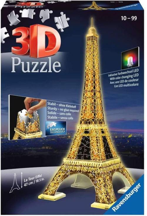Puzzle en 3D de la Torre Eiffel Ravensburger