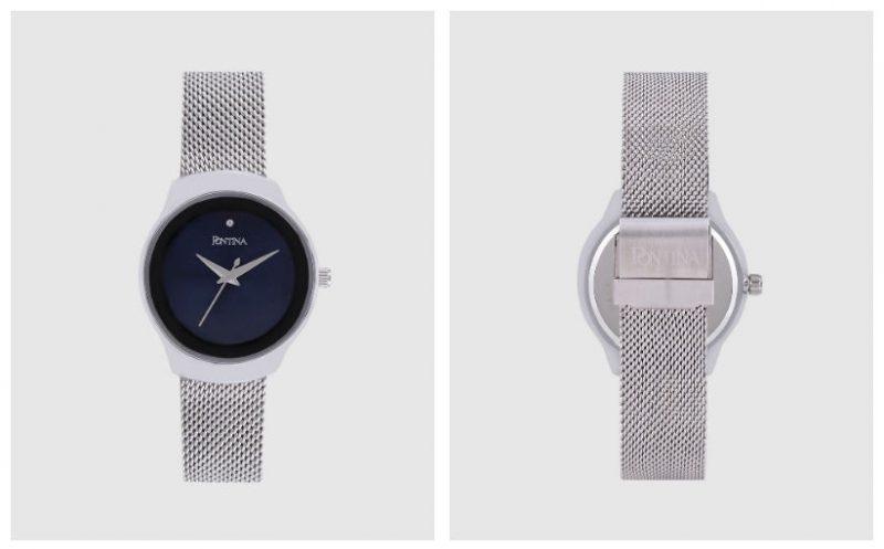 Reloj de mujer Pontina CY10830 de malla de acero