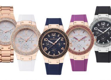 Relojes de mujer Timothy Stone decorados con cristales Swarovski