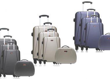 Set de 3 maletas y neceser Lanzarote-C marca Hero