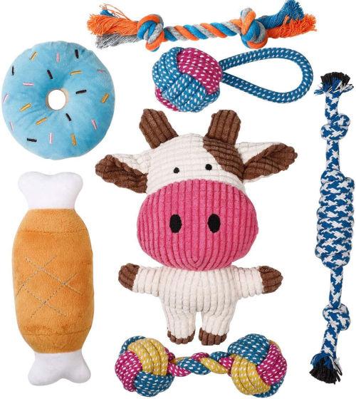 Set de juguetes para perros Toozey