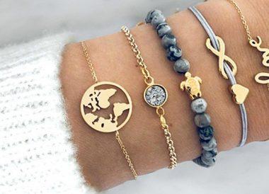 Set de pulseras Boho chic