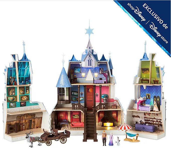 Set juego castillo Arendelle de Frozen 2