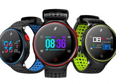 Smartwatch deportivo X2Plus con monitor de frecuencia cardíaca