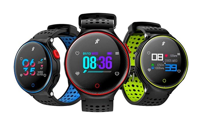 Smartwatch deportivo X2Plus con monitor de ritmo cardíaco