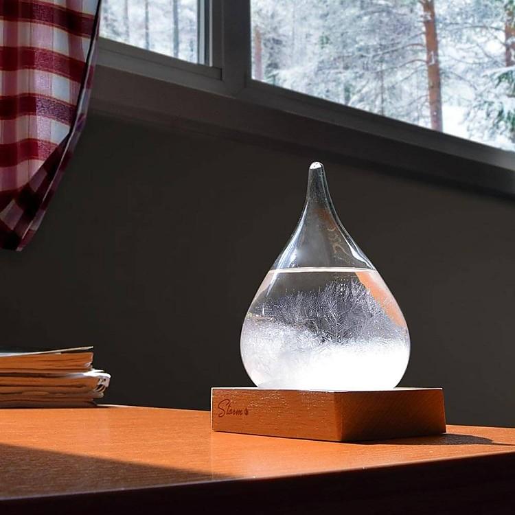Storm Glass el predictor del tiempo de cristal pequeño
