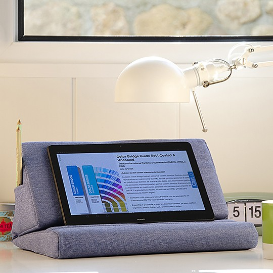 Tabletto el soporte cojin para tablets y libros