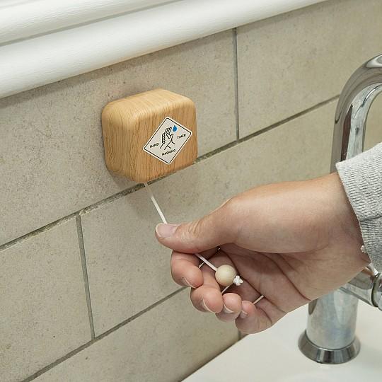 Temporizador musical para lavarse las manos