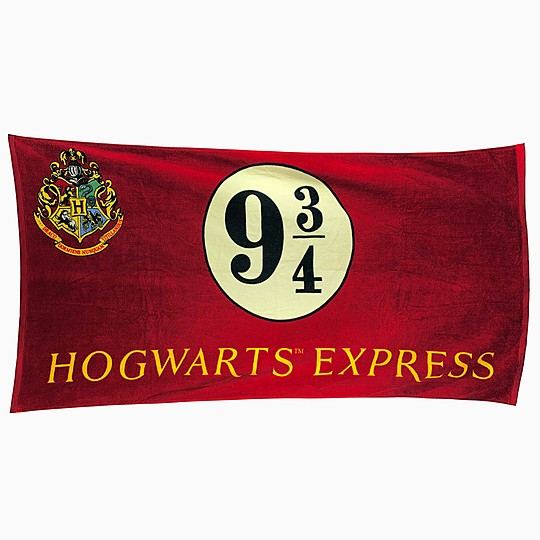 Toalla de playa de Harry Potter Hogwarts Express