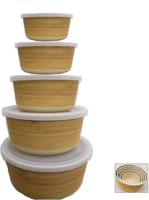 Tupers de Fibra de Bambu Ecologicos
