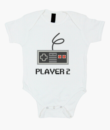 body para bebe player 2