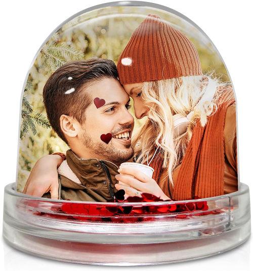 bola de corazones personalizada con tu foto