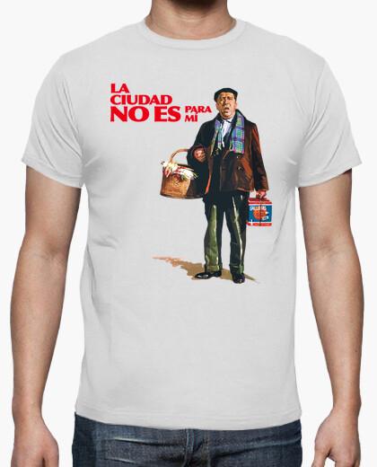 camiseta la ciudad no es para mi paco martinez soria