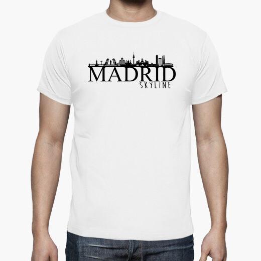 camiseta madrid skyline