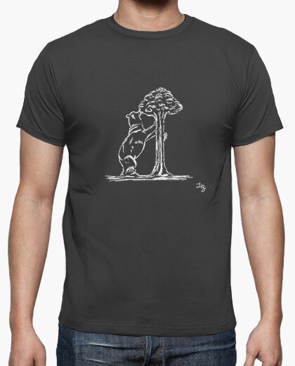 camiseta oso y madrono