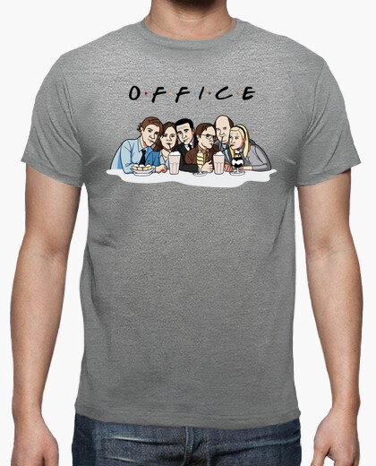 camiseta the office