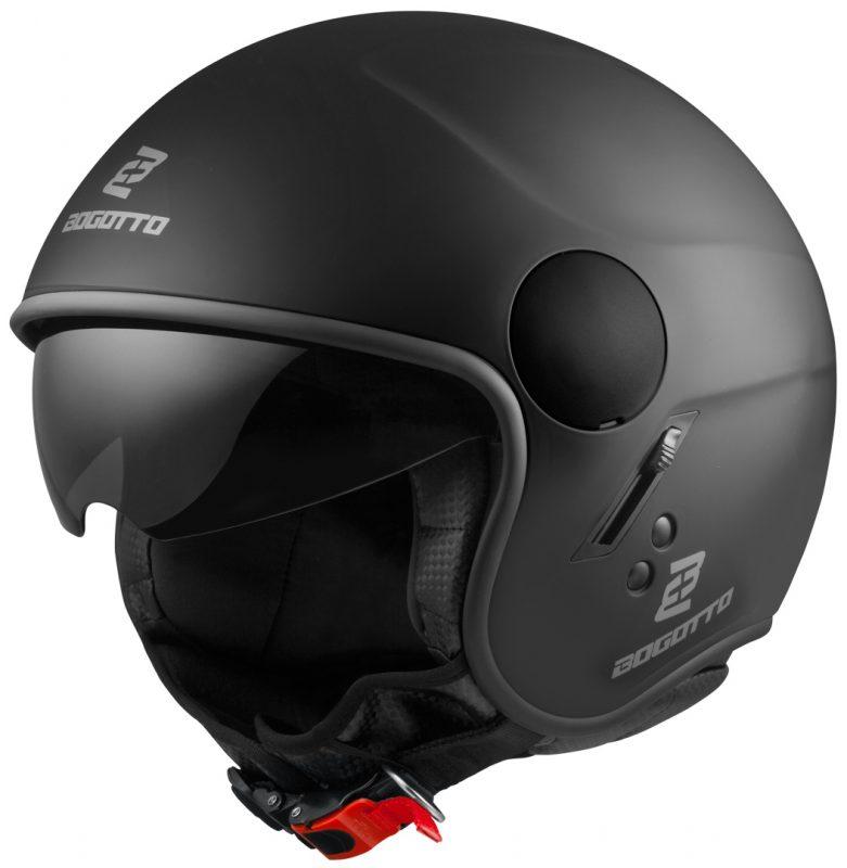 casco de moto jet bogotto v595
