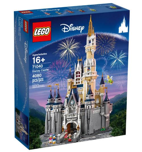 castillo disney de lego