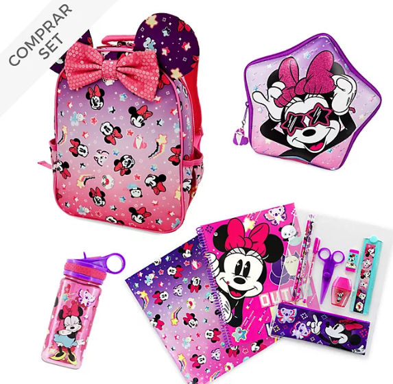 coleccion vuelta al cole minnie mouse