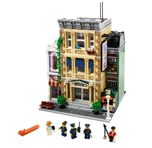 comisaria de policia lego creator