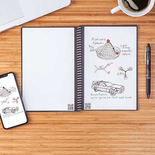 cuaderno digital rocketbook