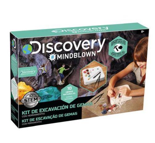 discovery kit de excavacion de gemas