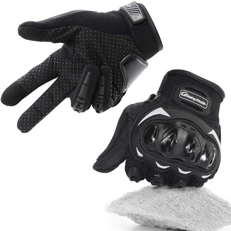 guantes para moto bicicleta aptos para pantallas tactiles