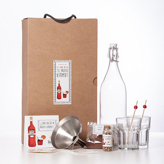 kit para preparar tu propio vermut en casa